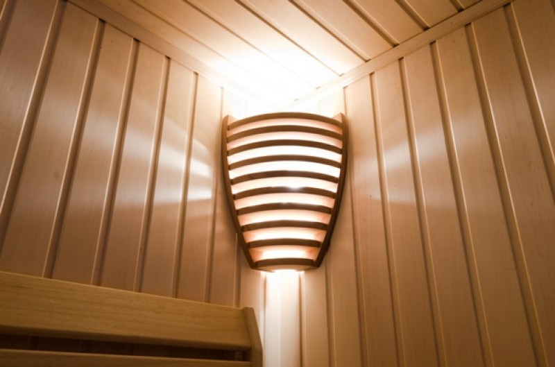 лампа в сауну, лампа в сауне, светодиодная лампа в сауне, светильник в сауне